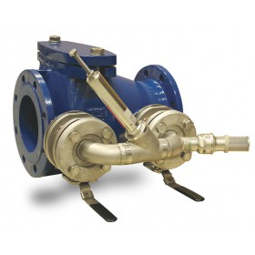 Pressure relief check valves